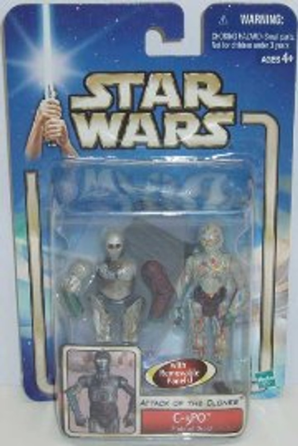 "STAR WARS ""C-3PO PROTOCOL DROID DELUXE ACTION FIGURE"""