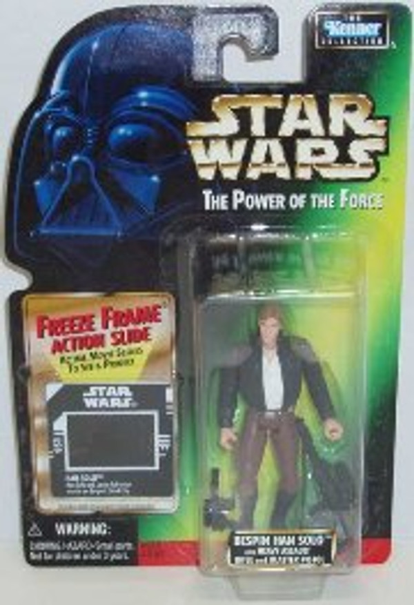 "STAR WARS POWER OF THE FORCE ""BESPIN HAN SOLO"""