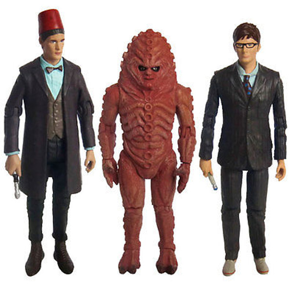 "DOCTOR WHO ""THE DAY OF THE DOCTOR COLLECTOR SET"" 50th Anniversary Special NEW"