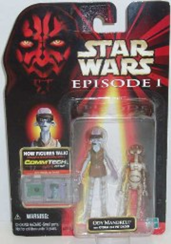 "STAR WARS ""COMMTECH ODY MANDRELL + OTOGA 222 PIT DROID"
