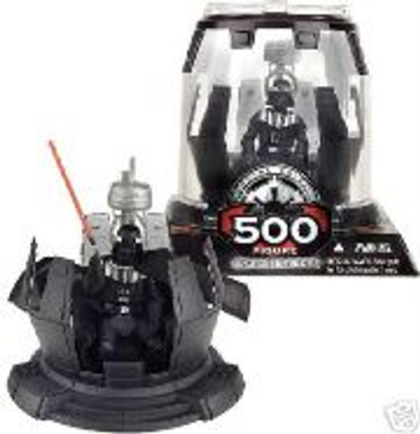 "STAR WARS ""DARTH VADER 500th FIGURE"