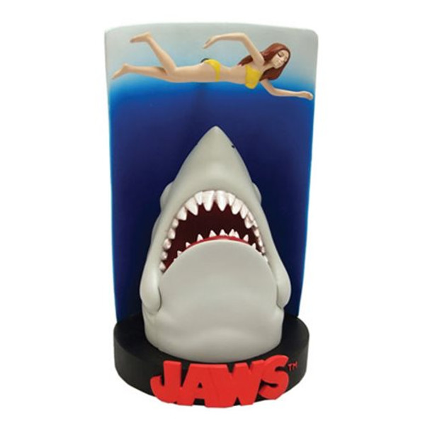 """JAWS """"SWIMMER POSTER"""" Premium Motion Statue"""