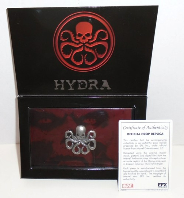 """CAPTAIN AMERICA THE FIRST AVENGER """"HYDRA LAPEL PIN"""""""