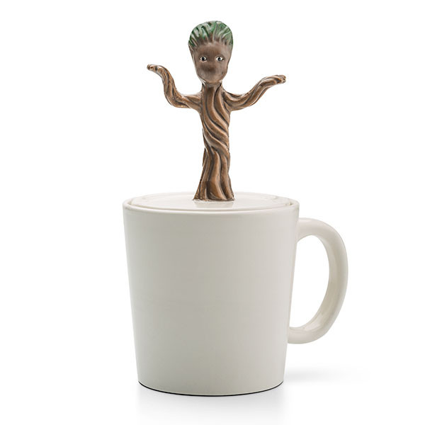 """GUARDIANS OF THE GALAXY """"BABY DANCING GROOT"""" moulded 16 oz mug"""