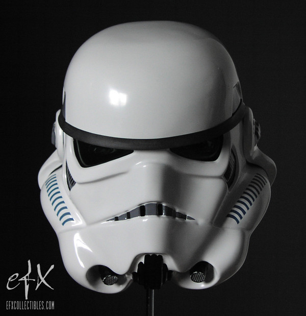 "STAR WARS ""STORMTROOPER HELMET"" EFX Collectibles Full 1:1 scale TORN BOX"