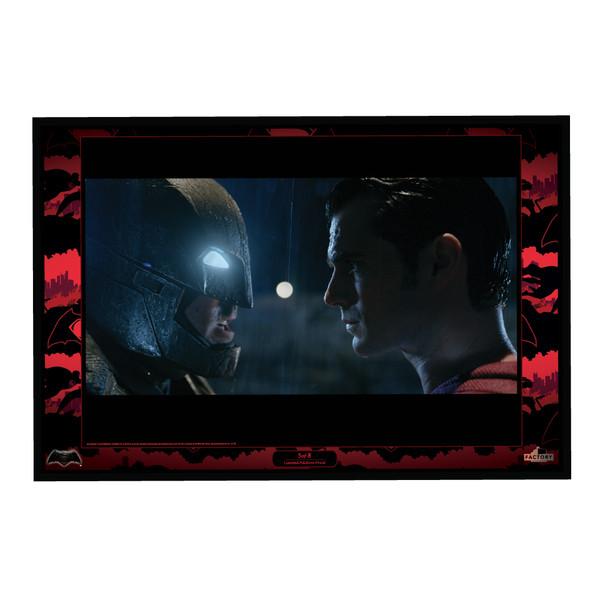 DC COMICS BATMAN VS SUPERMAN LITHOGRAPHIC PRINT SET