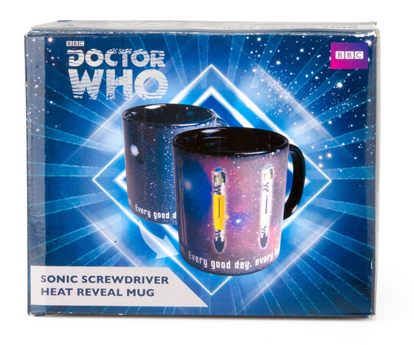 Doctor Who Sonic Screwdriver Heat Reveal Mug