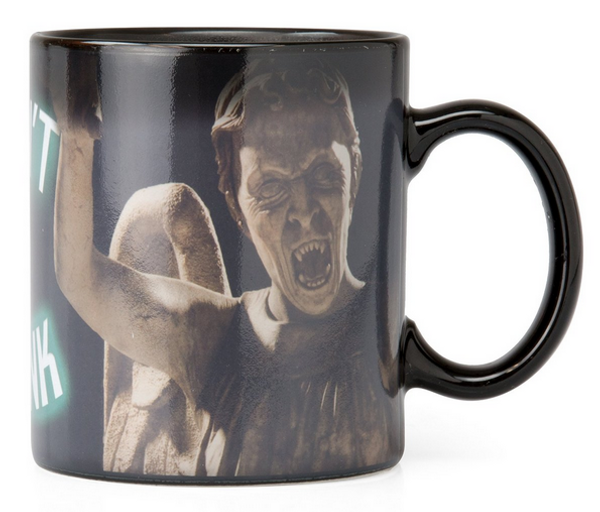 Doctor Who Weeping Angel Heat Reveal Mug