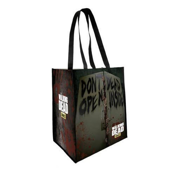 The Walking Dead Don't Open Dead Inside Reusable Shopping Bag