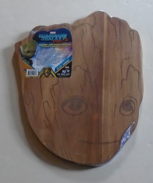 Guardians Of The Galaxy Vol 2 Baby Groot Wood Cutting Board