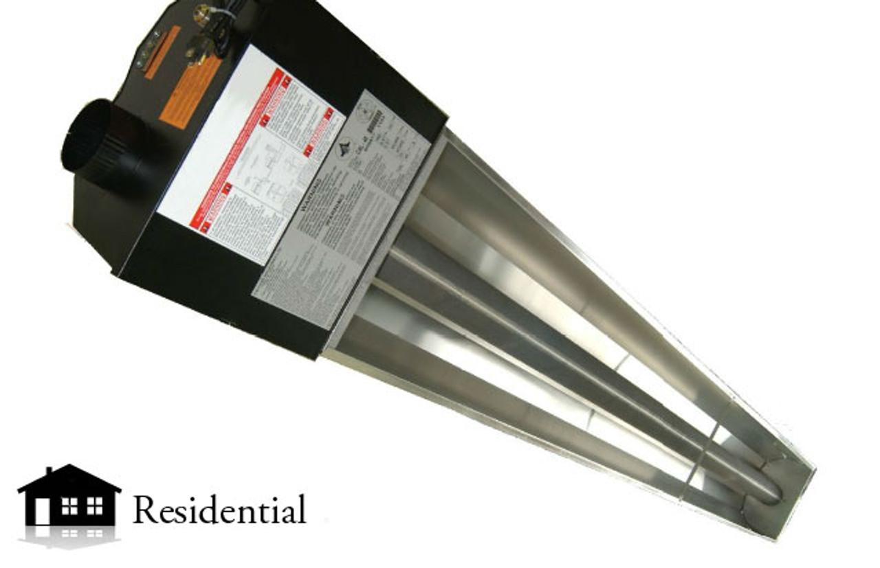 Infrared Garage Heater 75 000btu Natural Gas Sunray
