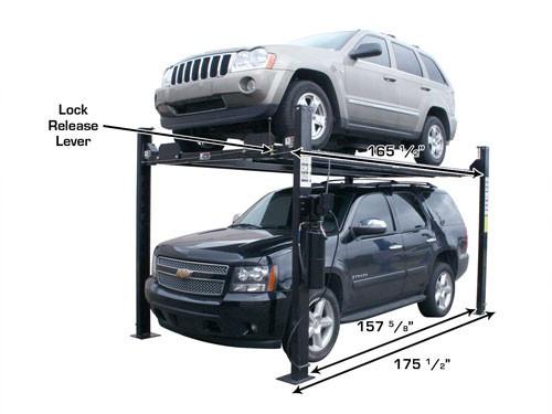 Atlas Garage Pro 8000 EXT 4 Post Lift (8,000lbs Capacity)