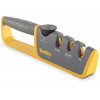 Smiths Adjustable Manual Knife Sharpener Gray-Yellow