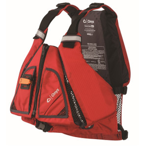 Onyx Movevent Torsion Vest-Red