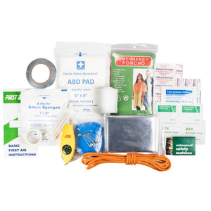 Life Gear 88PC Quick Grab First Aid Survival Kit