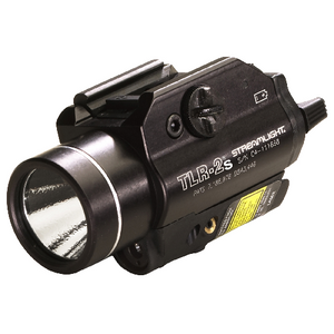 A Tlr-2 Weapons Mounted Light With Laser Sight
