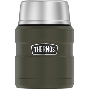 Thermos Stainless King Vacuum Insulated Stainless Steel Food Jar - 16oz - Matte Army Green