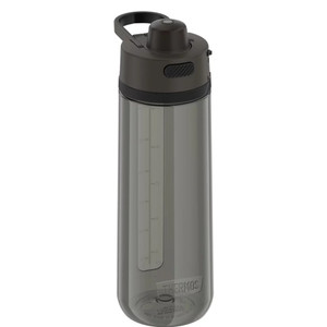 Thermos Guard Collection Hard Plastic Hydration Bottle w\/Spout - 24oz - Espresso Black