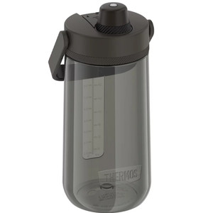 Thermos Guardian Collection Hard Plastic Hydration Bottle w\/Spout - 40oz - Espresso Black