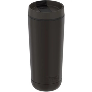 Thermos Guardian Collection Stainless Steel Tumbler 5 Hours Hot\/14 Hours Cold - 18oz - Espresso Black