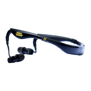 Pro Ears Stealth 28 Hearing Protection and Amplification Blk