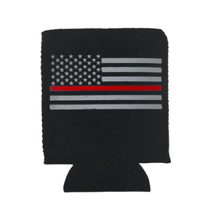 Thin Red Line Can Koozie