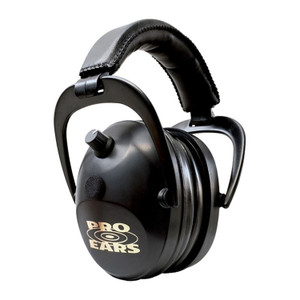 Pro Ears Gold II 26 Electronic Hearing Protection Black