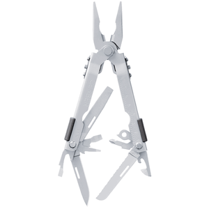 Multi-plier 600 - Needlenose  Stainless W/ Carbide Insert Cutters, Sheath