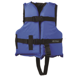 Onyx Child Boating Vest Blue Black