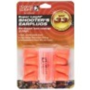 Leight Pre Shaped Foam Ear Plugs 5 pair with Carrying Case