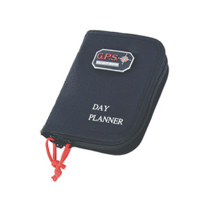 GPS Small Day Planner -with Pistol Storage Black