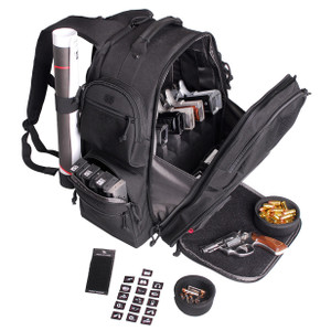 G.P.S. The Executive Backpack-Black