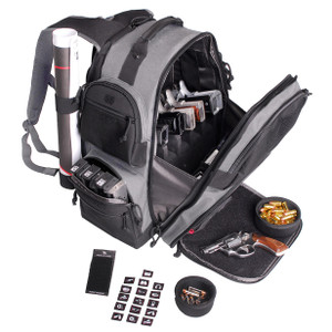G.P.S. The Executive Backpack w Cracle for 5 Handguns