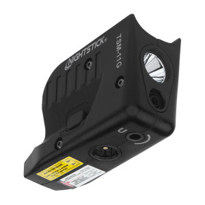 Subcompact Weapon Light W/green Laser For Glock G42/g43/g43x/g48