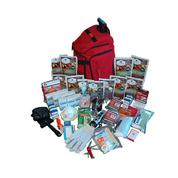 Deluxe Survival Kit in Red Backpack