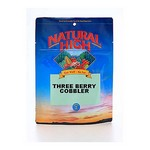 Three Berry Cobbler cook-in-pouch survival food