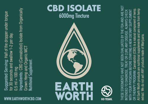 6000mg Isolate Tincture