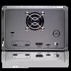 G-RAID 2 - 8TB, 2 Bay RAID Array From SanDisk Professional - Back with Ports