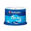 Verbatim 94691 CD-R 52x 80 Min/700MB, with Logo - Spindle of 50 Disc