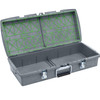 XpresspaX Dual Tray Container - Charcoal Gray - Empty