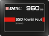 EMTEC Internal SSD X150 Power Plus 960GB Solid State Drive - Front