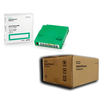 HPE LTO 8 Tapes Labeled Custom Data Cartridge 20 Pack Q2078AL