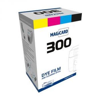 Magicard Black Mono Ribbon - KO - 600 prints - MC600KO