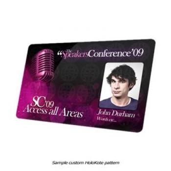 Magicard & AlphaCard Electronic Custom HoloKote - Setup & Key
