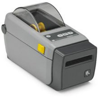 Zebra - ZD410 Direct Thermal Desktop Printer for labels, Receipts, Barcodes, Tags, and Wrist Bands - Print Width of 2 in - USB, Bluetooth, and Wifi Connectivity