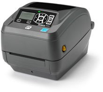 Zebra - ZD500t Thermal Transfer Desktop Printer for Labels and Barcodes - Print Width 4 in - 203 dpi - Interface: Ethernet, Parallel, Serial, USB - ZD50042-T01200FZ