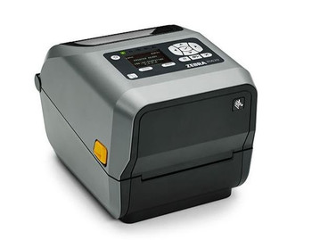 Zebra ZD620t Thermal Transfer Desktop Printer 300 dpi Print Width 4 in Ethernet Serial USB Peeler Preinstalled ZD62043-T11F00EZ