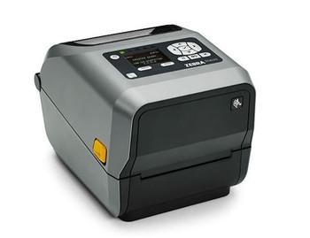 Zebra ZD620t Thermal Transfer Desktop Printer 300 dpi Print Width 4 in Ethernet Serial USB Peeler Preinstalled ZD62043-T11F00EZ
