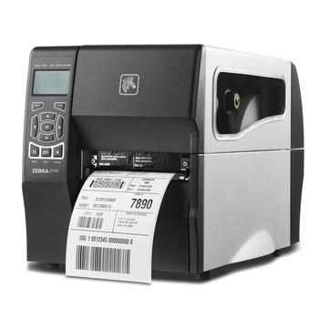 Zebra ZT230 Thermal Transfer Industrial Printer 203 dpi Print Width 4 in Serial USB Ethernet Part # ZT23042-T01200FZ