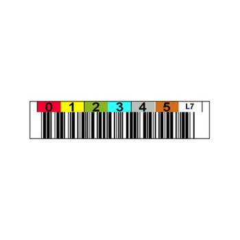 Custom LTO Barcode Label
